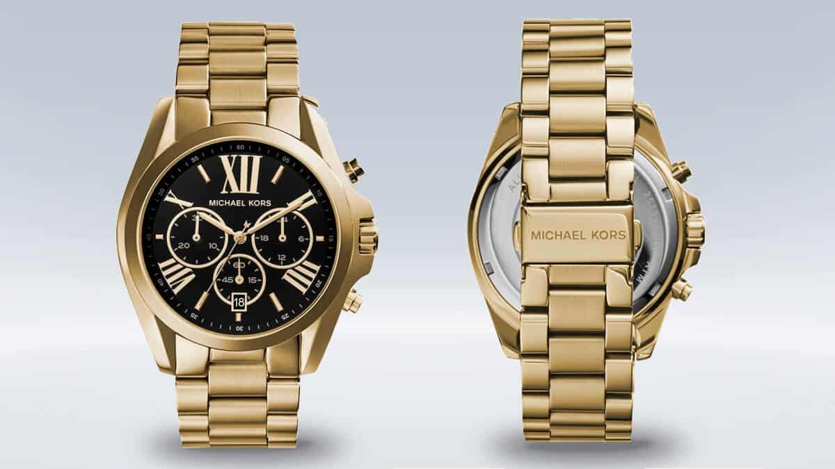 Dámske hodinky Michael Kors MK5739 s čiernym ciferníkom