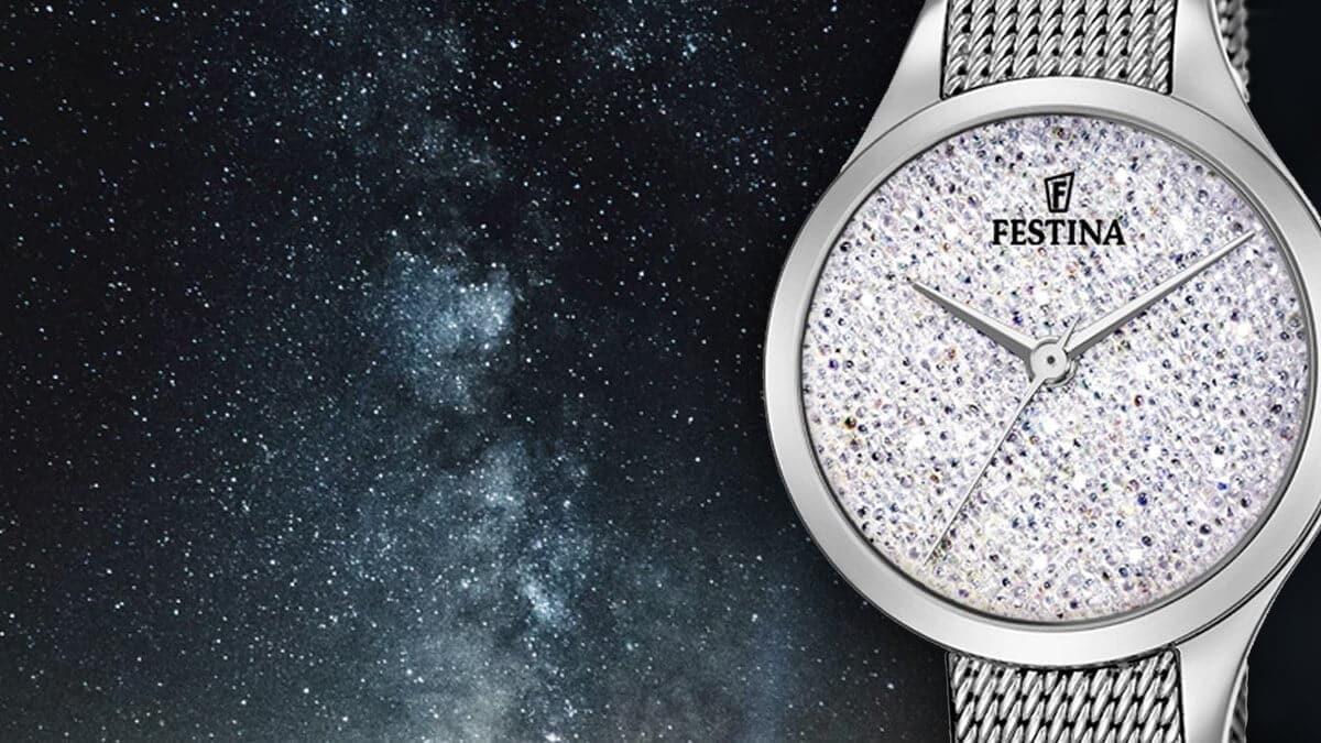 Dámske hodinky Festina Swarovski sú skvelým doplnkom elegantnej dámy