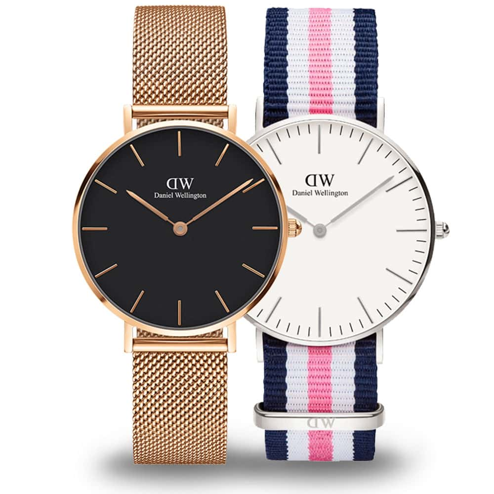 Spoznajte populárnu minimalistickú značku hodiniek - Daniel Wellington