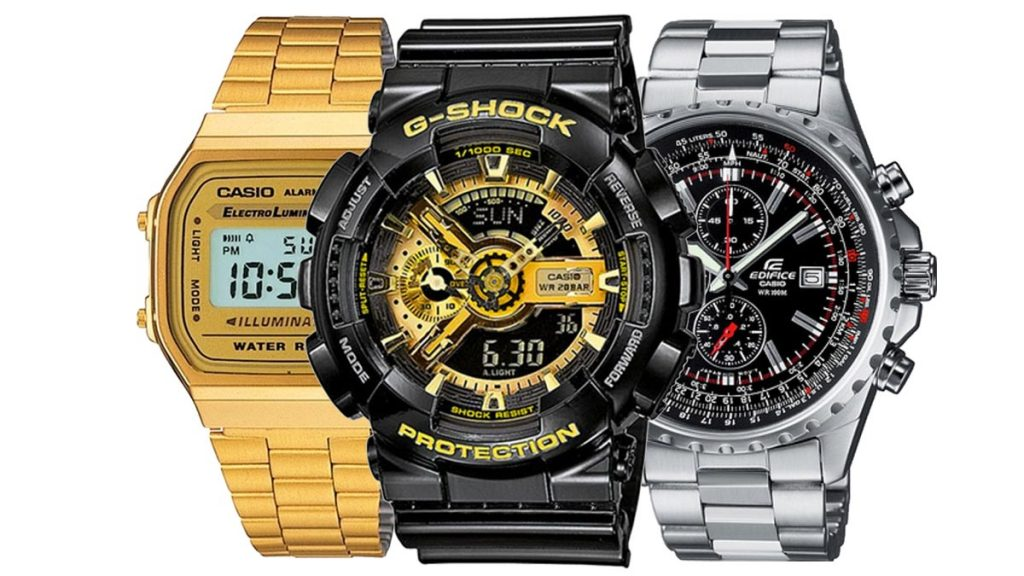 Štýlové športové hodinky Casio