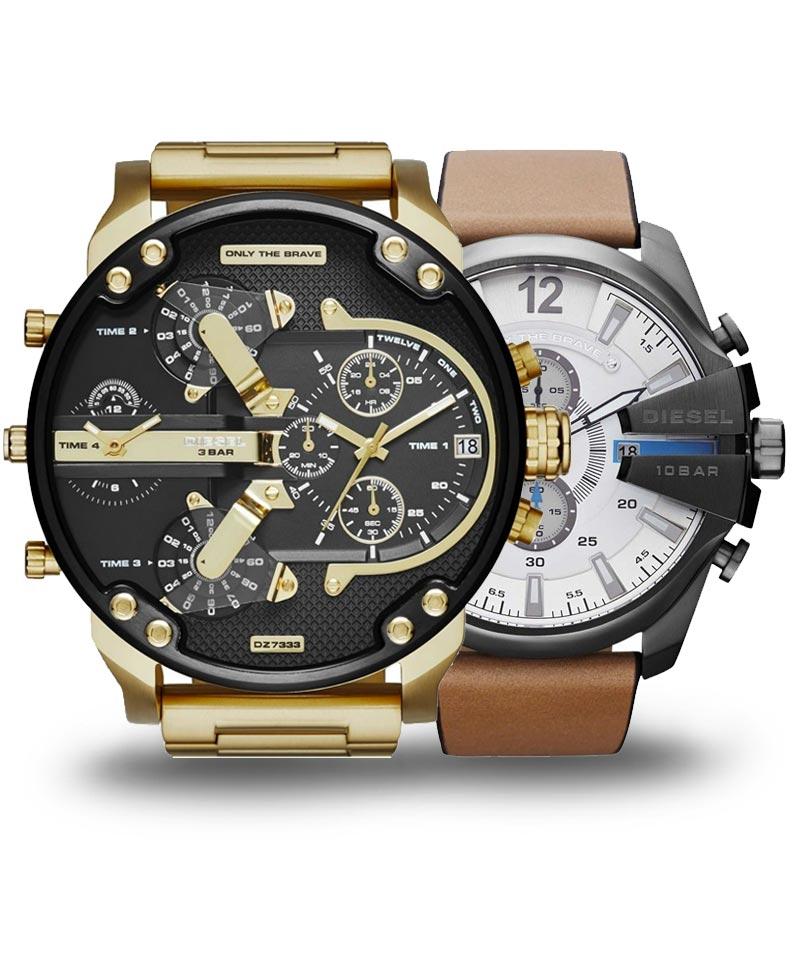 Veľké hodinky Diesel pre poriadneho chlapa