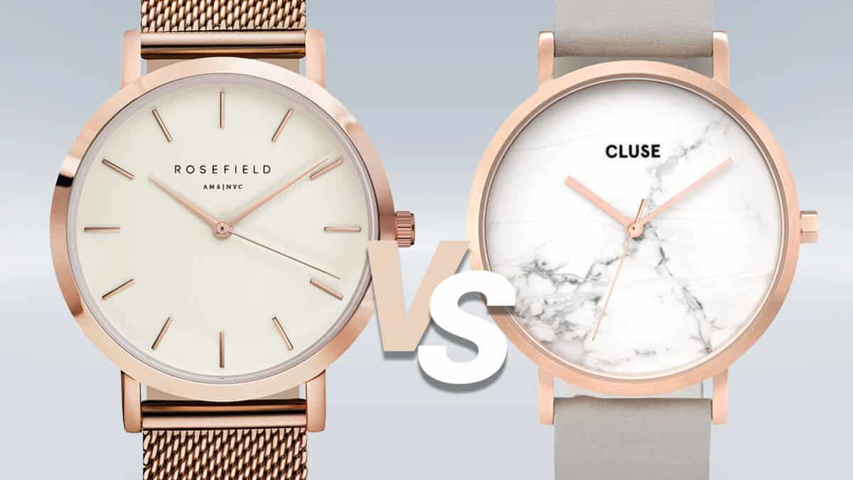 Súboj minimalistických hodiniek Rosefield a Cluse
