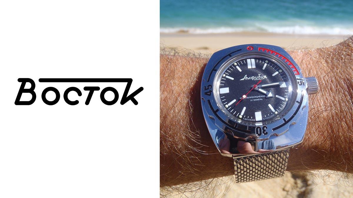 Legendárne ruské hodinky Vostok Amphibia