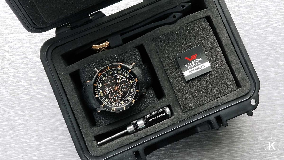 Box na hodinky Vostok Europe