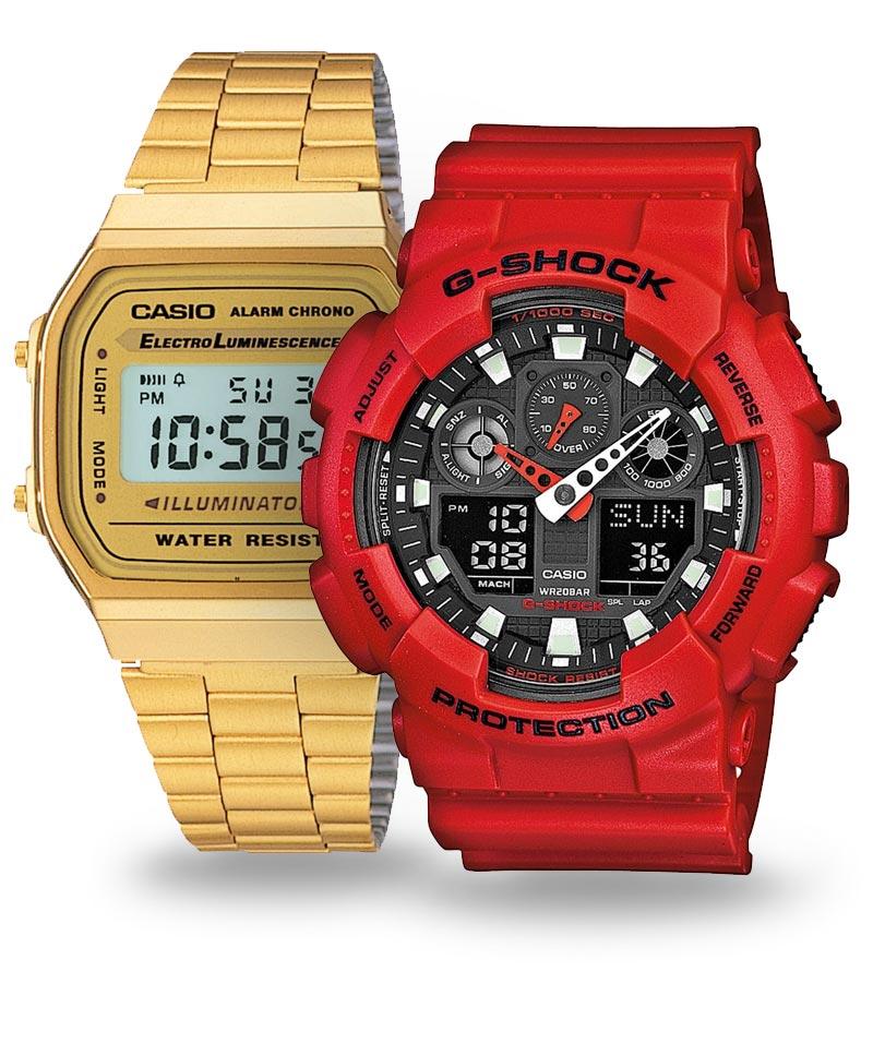 Legendárne pánske hodinky Casio   Populárne edície G-Shock, Edifice, Vintage