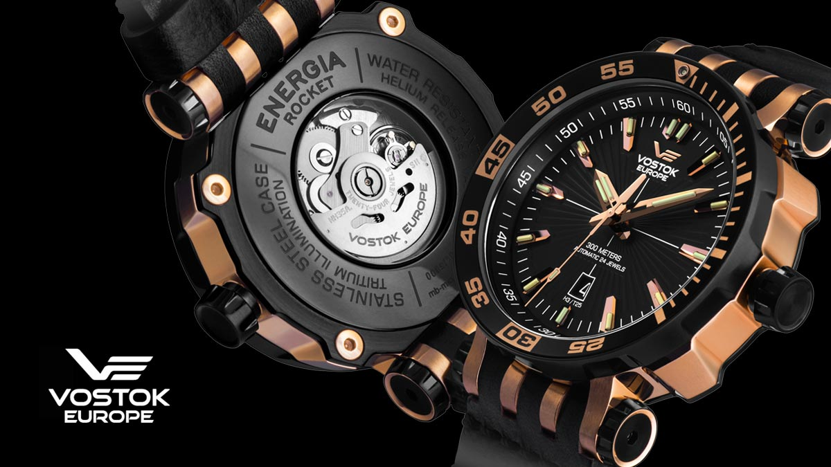 Kvalitné hodinky Vostok Europe
