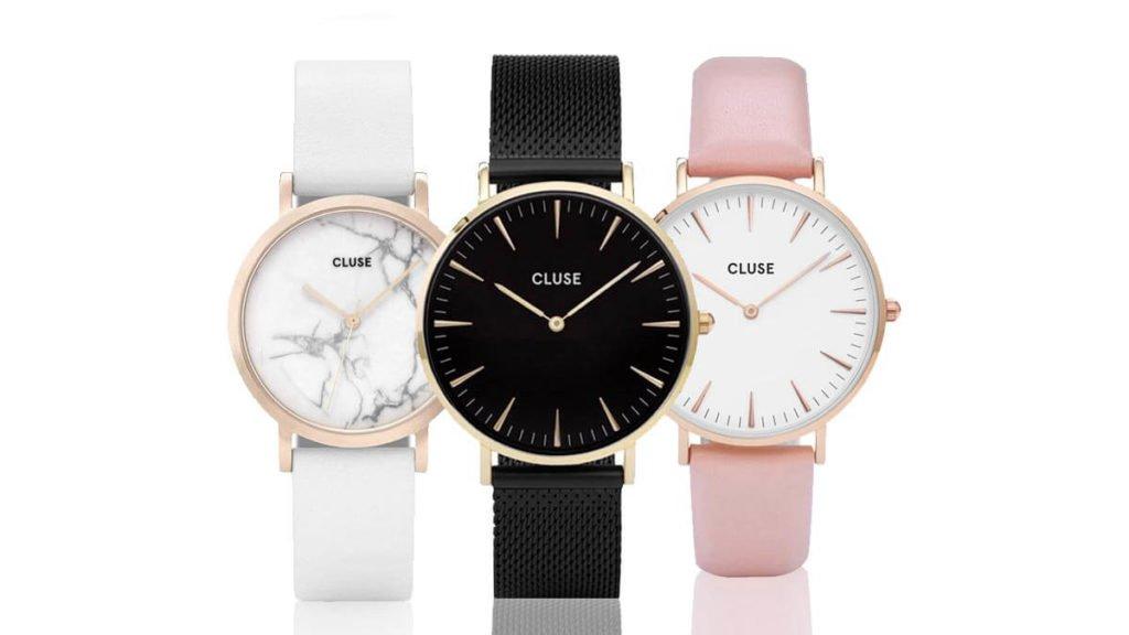 Jemné a minimalistické dámske hodinky Cluse