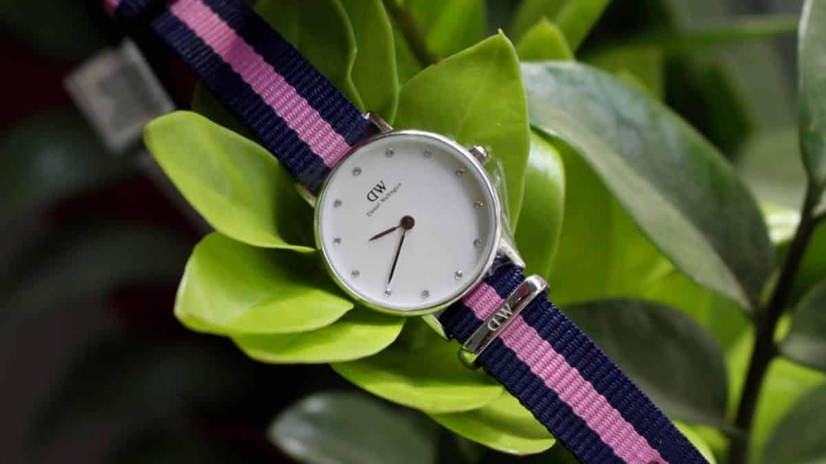 Jeden z prvých modelov dámskych hodiniek Daniel Wellington