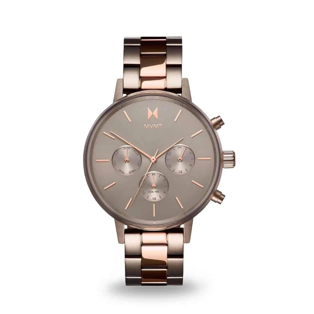 Hnedé dámske hodinky MVMT Nova