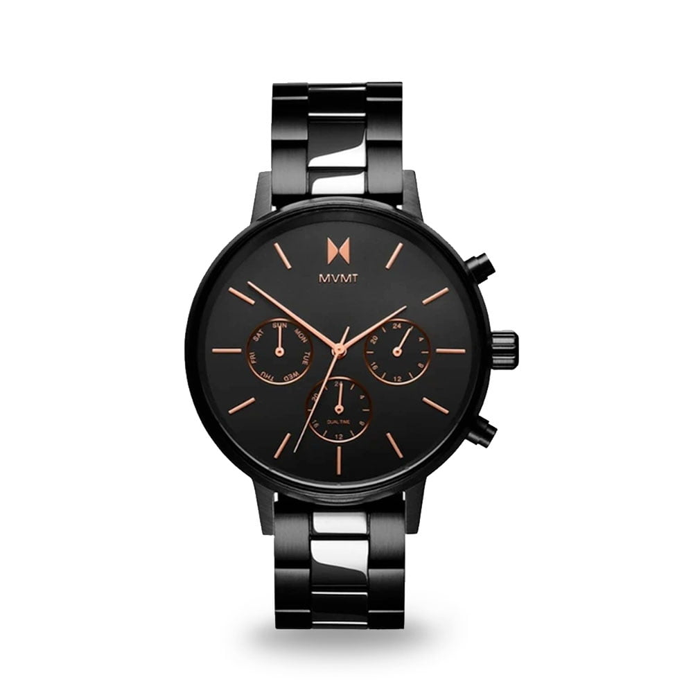 Čierne dámske hodinky MVMT