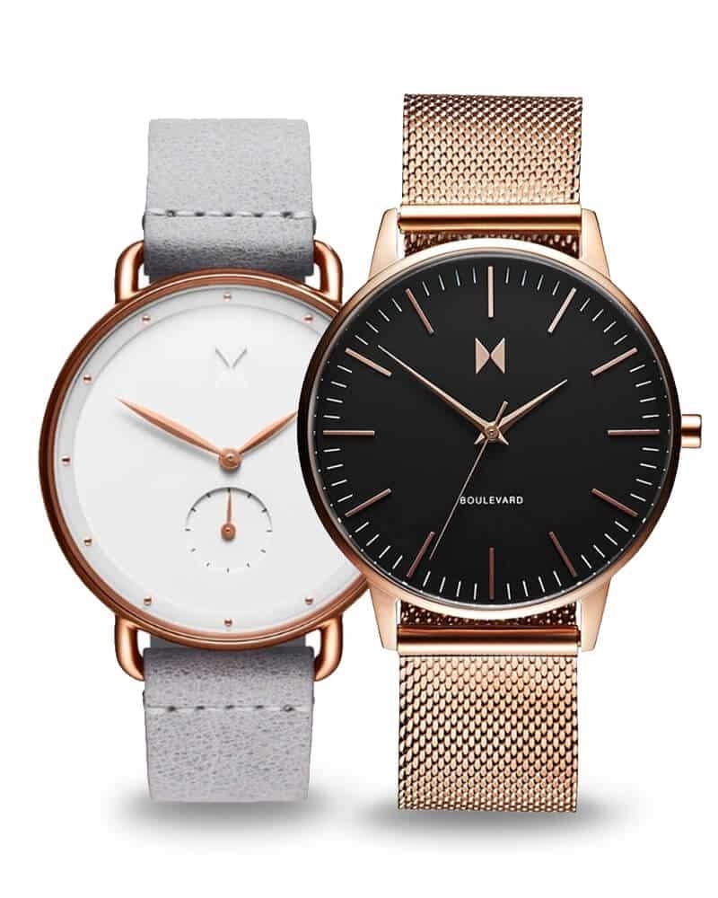 Dámske hodinky MVMT - jednoduché línie a minimalistický vzhľad