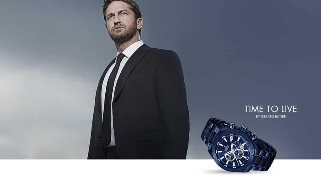 Gerard Butler v reklamnej kampani značky Festina