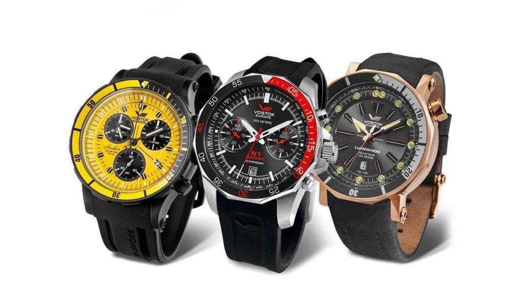 Pánske hodinky Vostok Europe sú originálne pánske modely hodiniek s veľkým ciferníkom