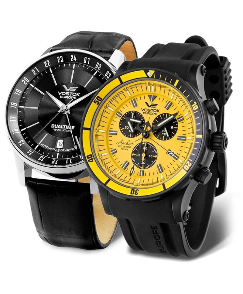 Hodinky Vostok Europe sú masívne a kvalitne spracované hodinky pôvodom z Litvy
