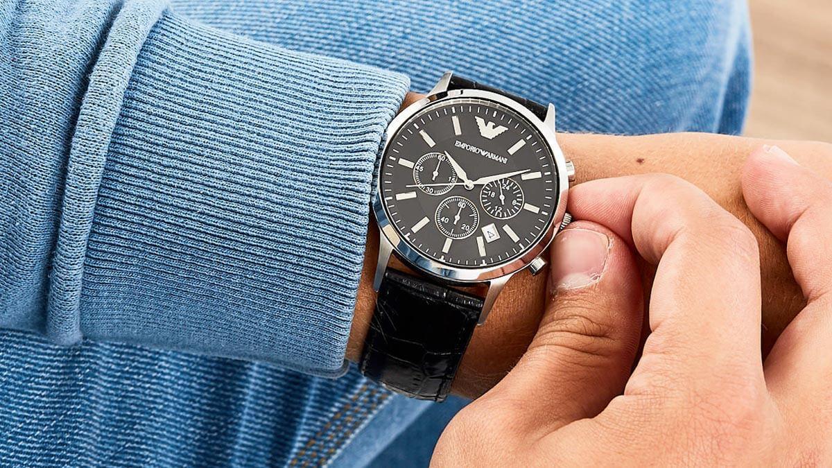 Luxusné hodinky pre pána Emporio Armani