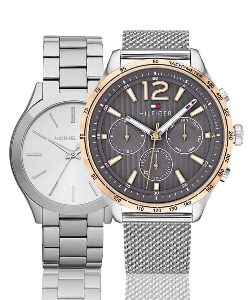 Módne hodinky pre pánov a dámy