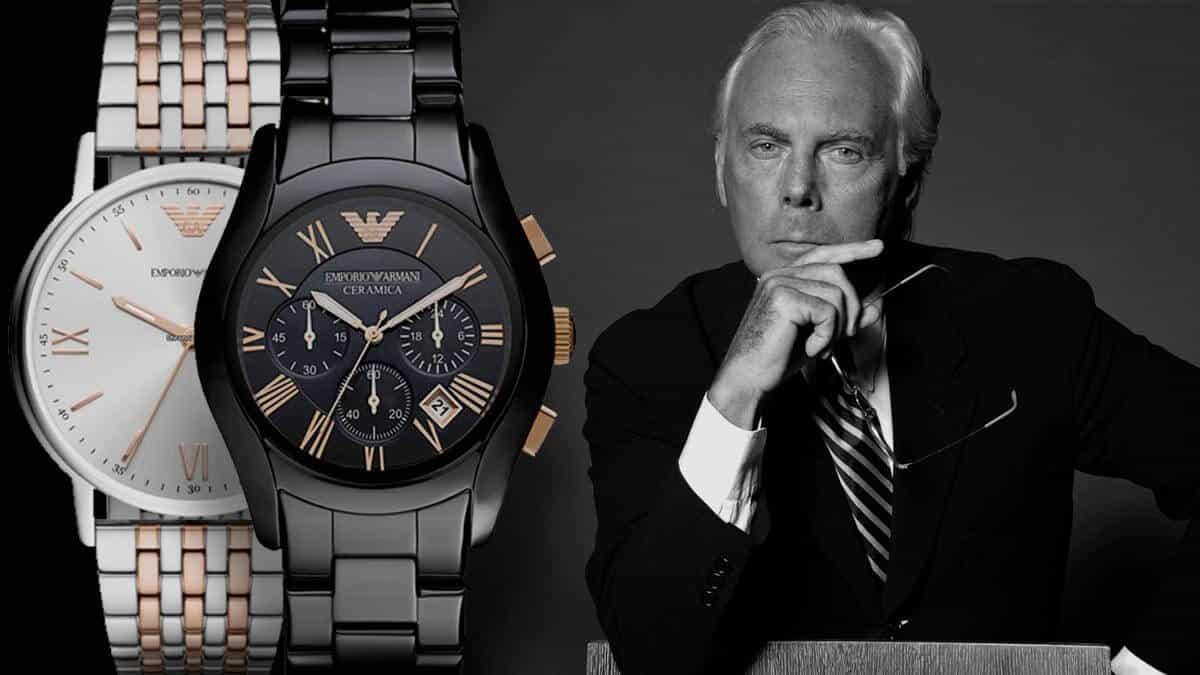Ikonické pánske hodinky Emporio Armani od jedného z najvplyvnejších ľudí módneho sveta