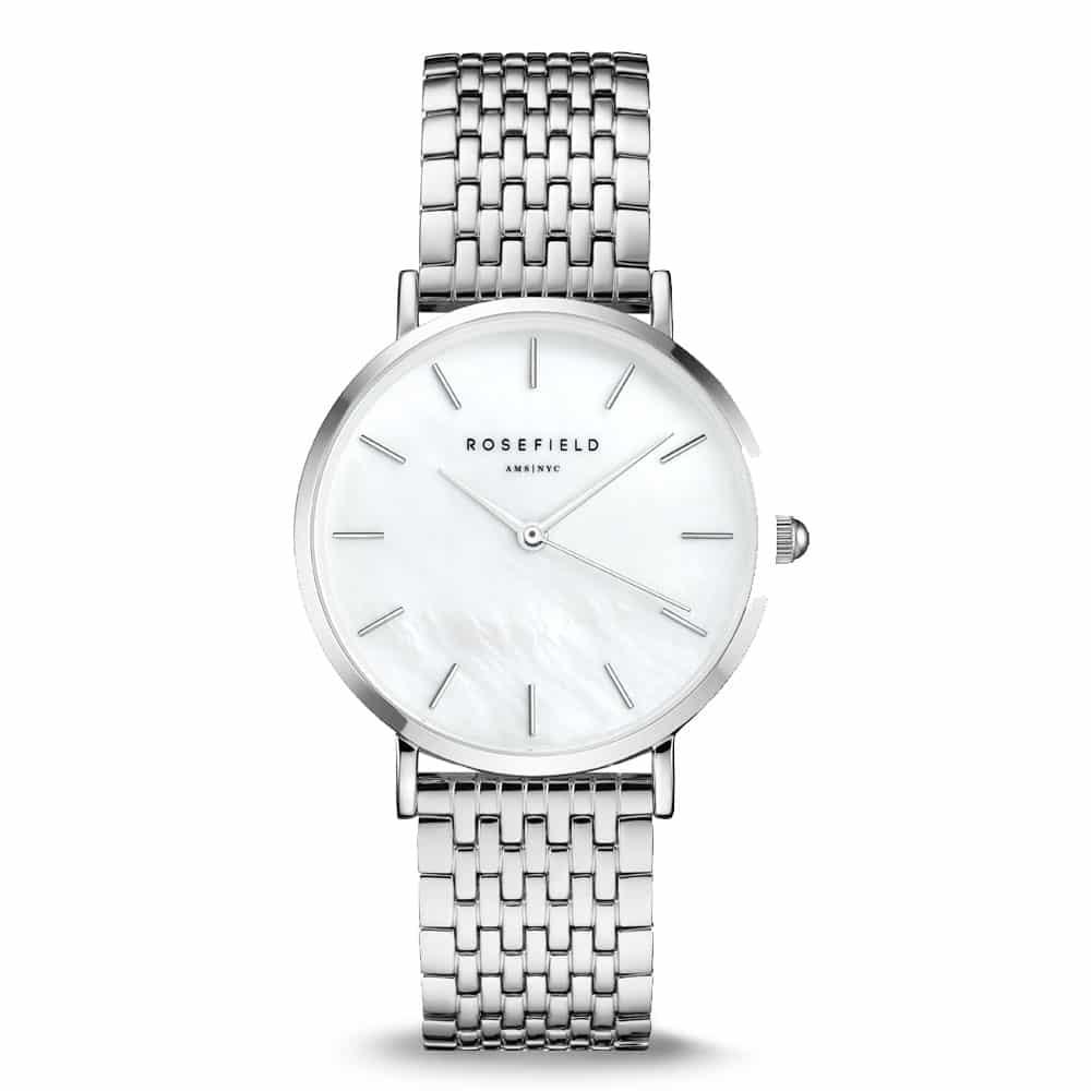 Strieborné dámske hodinky Rosefield
