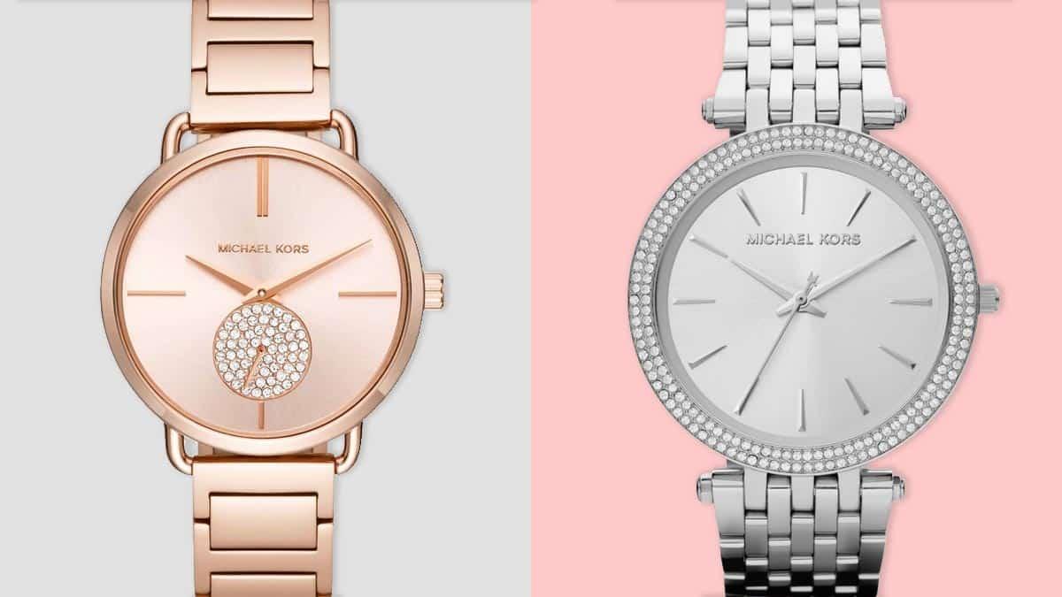 Strieborné a ružové dámske hodinky sú populárnymi farbami hodiniek pre dámy