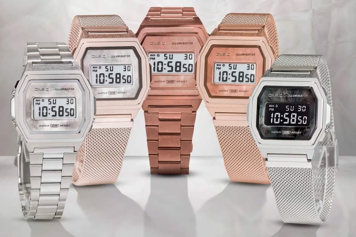 Štýlové retro hodinky - Casio Vintage