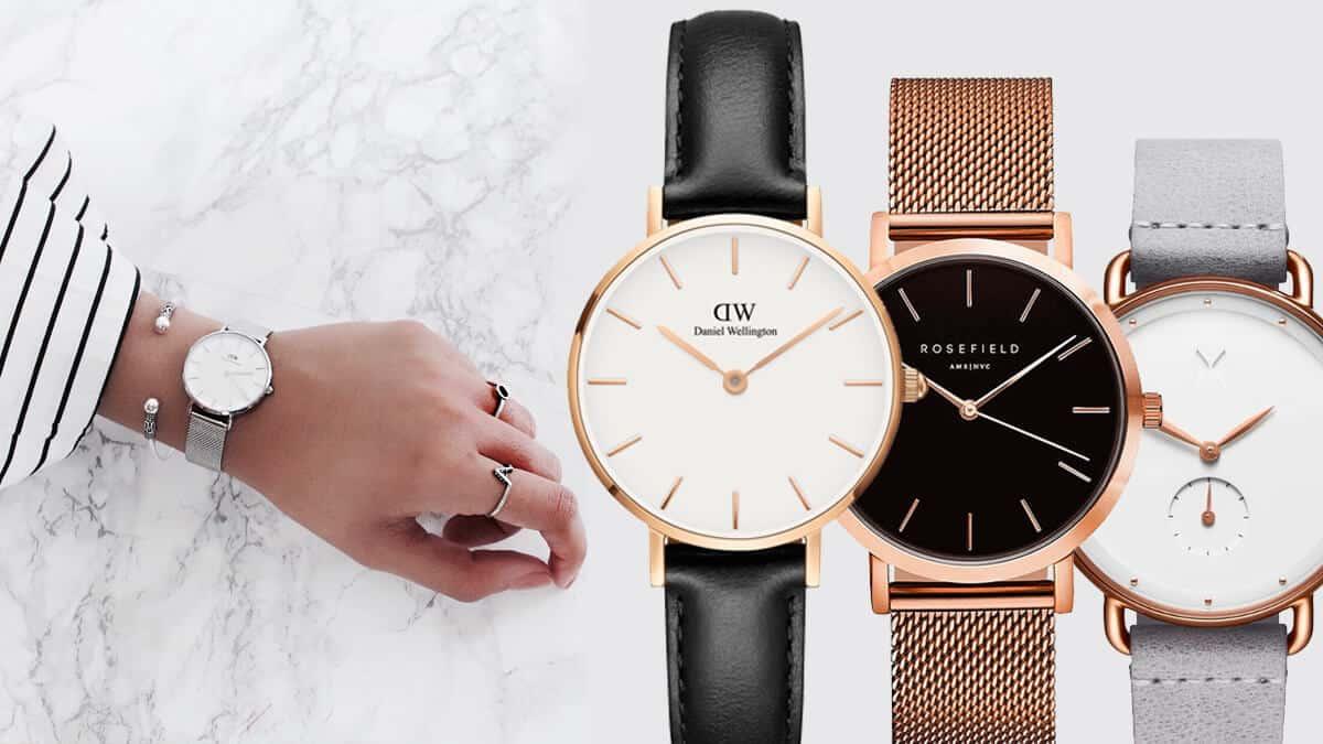 Hľadáme tie najlepšie dámske minimalistické hodinky