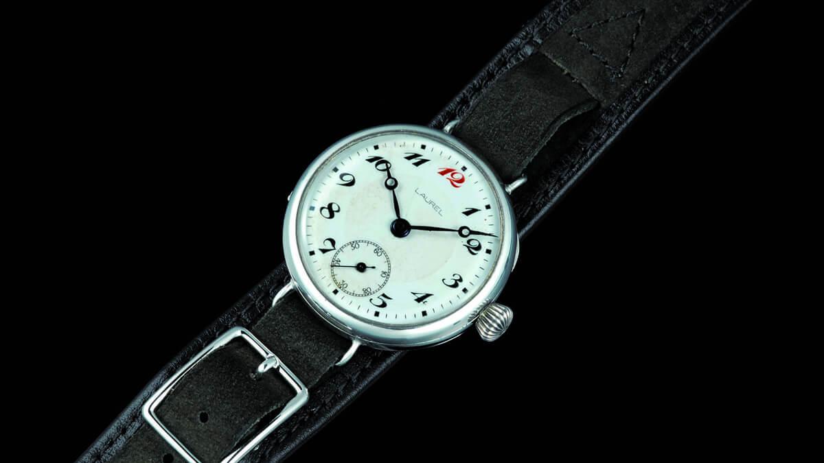 Prvé náramkové hodinky od Seiko - ešte pod značkou Laurel