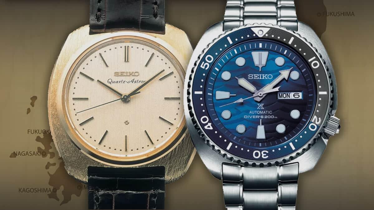 Japonské náramkové hodinky Seiko sú zárukou kvality