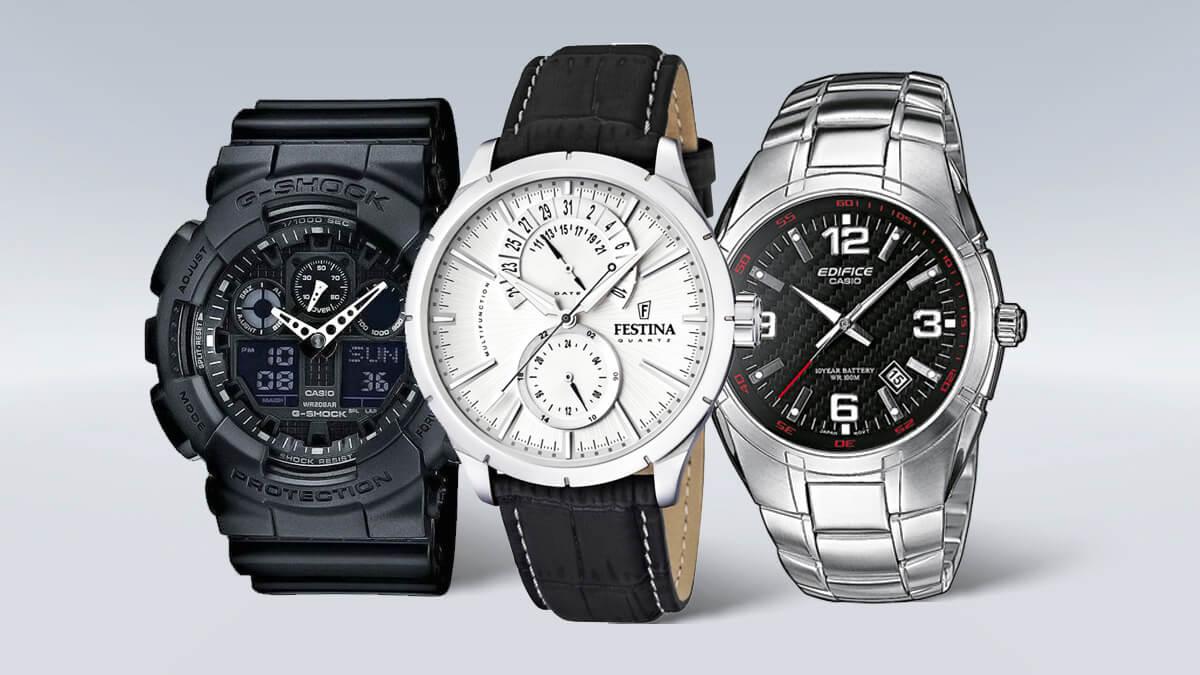 Lacné pánske hodinky od overených značiek