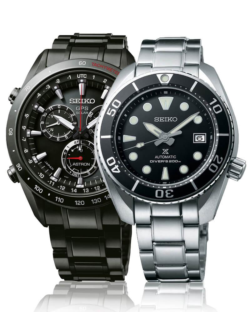 Kvalitné japonské hodinky Seiko