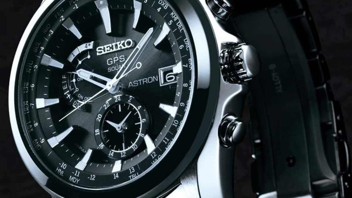 Solárne hodinky Seiko s GPS príjmačom