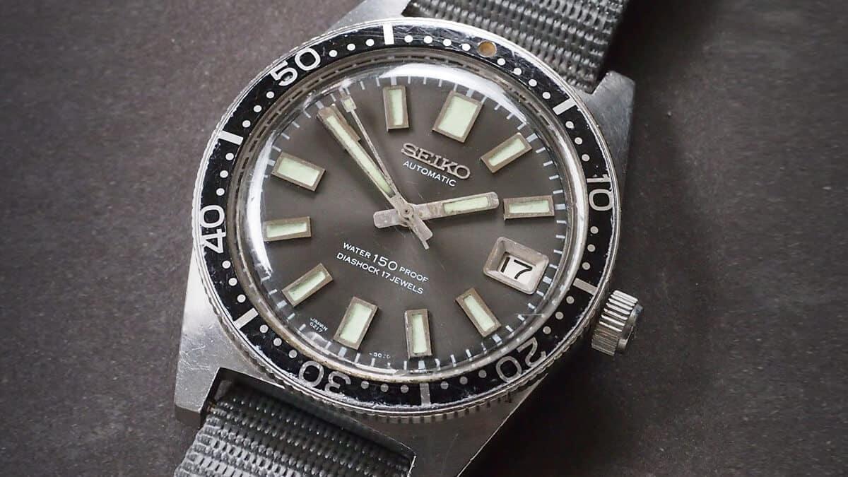 Potápačské hodinky Seiko Divers