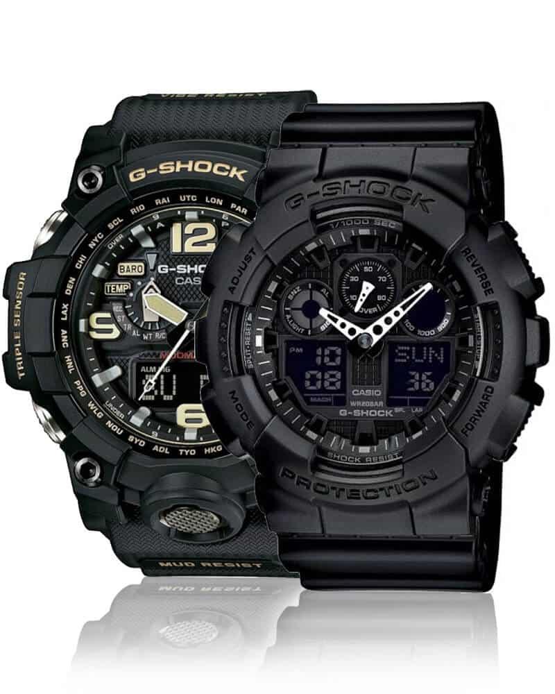 Robustné pánske hodinky Casio G-Shock sú skvelou voľbou pre každého, kto hľadá odolné hodinky
