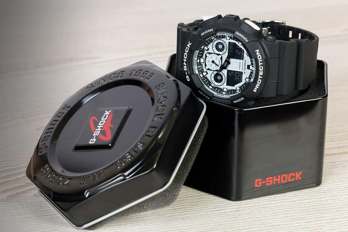 Nastavenie času na hodinkách Casio G-Shock