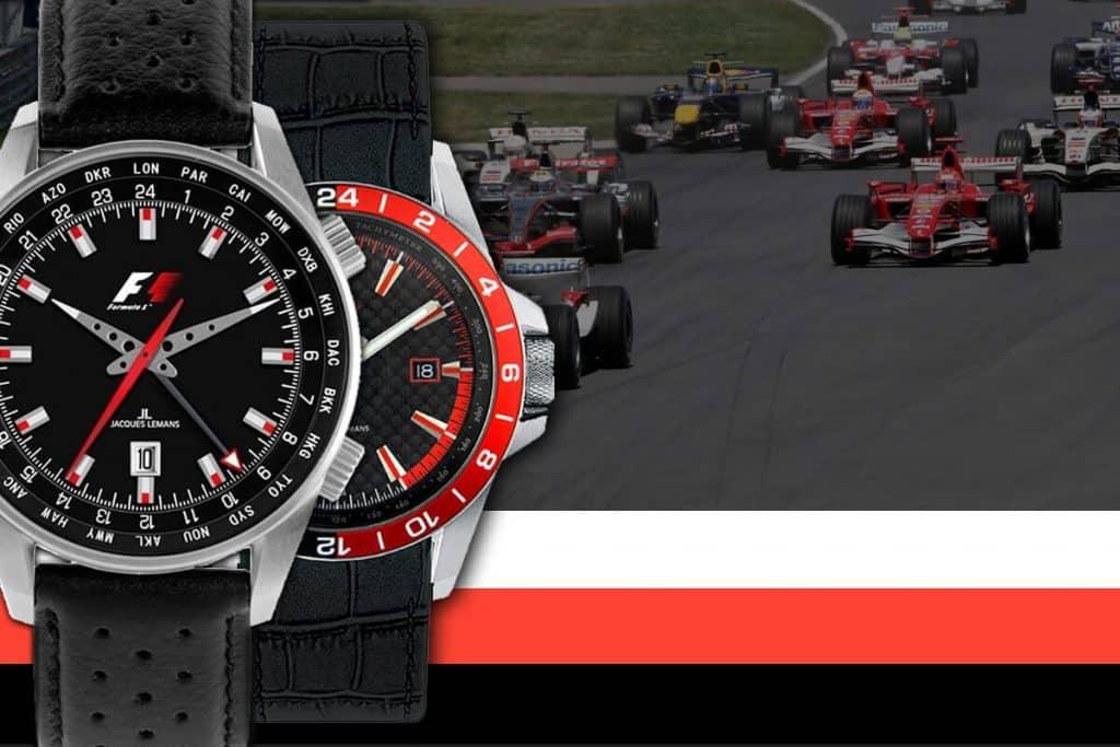 Hodinky Jacques Lemans boli exkluzívnym partnerom závodov formule F1