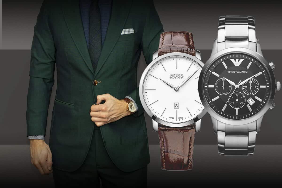 Hľadáte štýlové pánske hodinky k obleku?