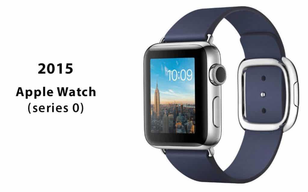 Prvá generácia hodiniek Apple Watch nazývaná aj Series 0
