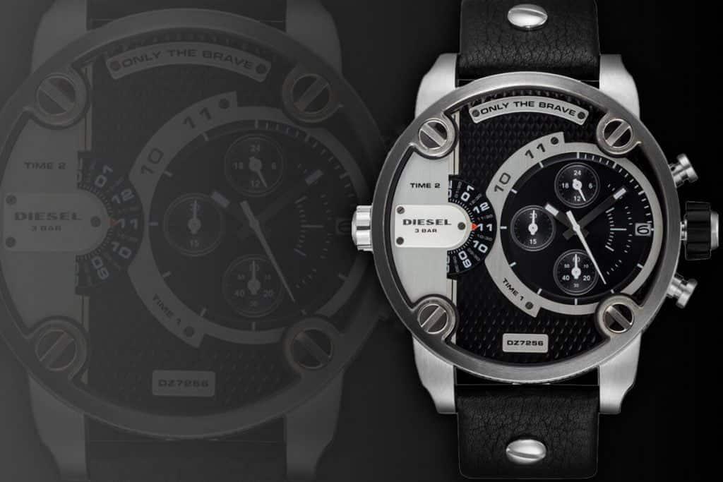 Veľké pánske hodinky značky Diesel