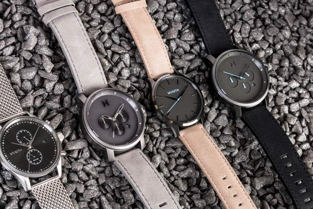 Pánské hodinky MVMT v rôznych farebných variáciách