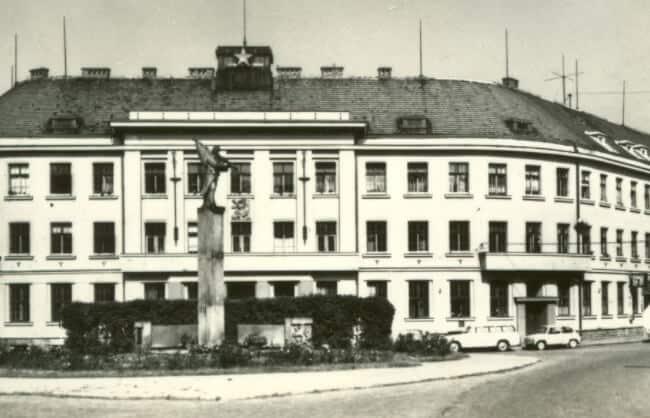 Prvá továreň na hodinky značky Prim v Novém Městě nad Metují