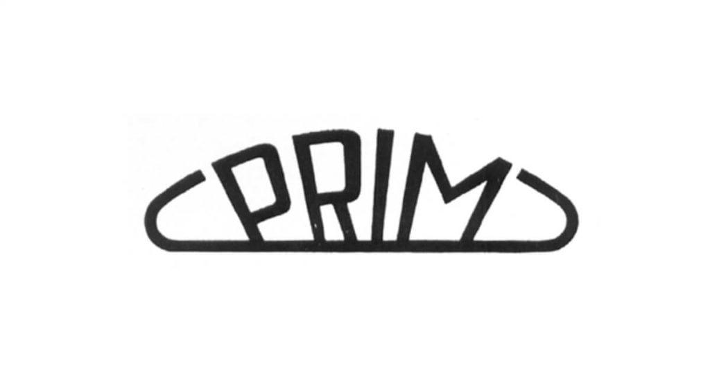 Logo spoločnosti Prim z roku 1956