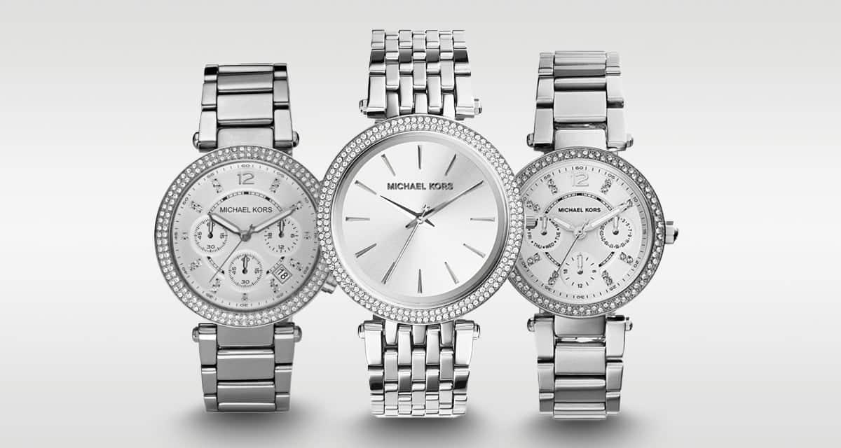 Vybrali sme najvydarenejšie strieborné dámske hodinky Michael Kors