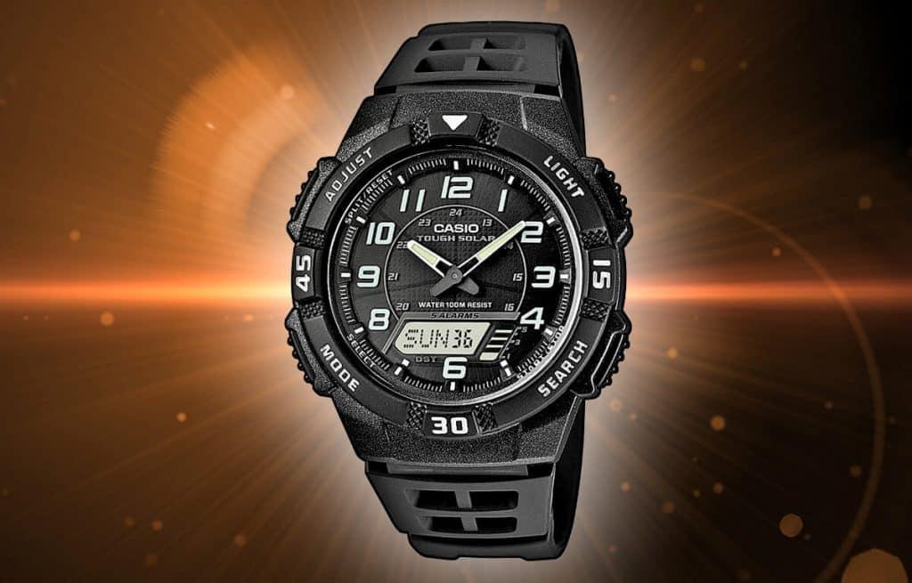 Pánske hodinky na solárny pohon - Casio Tough Solar