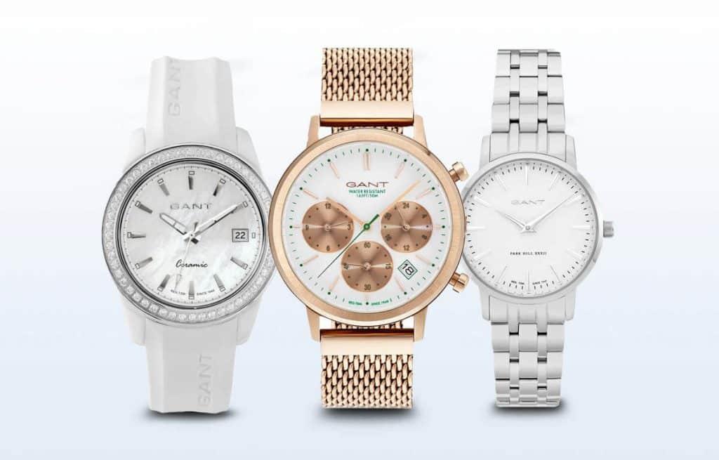 Naše tri tipy na dámske hodinky Gant