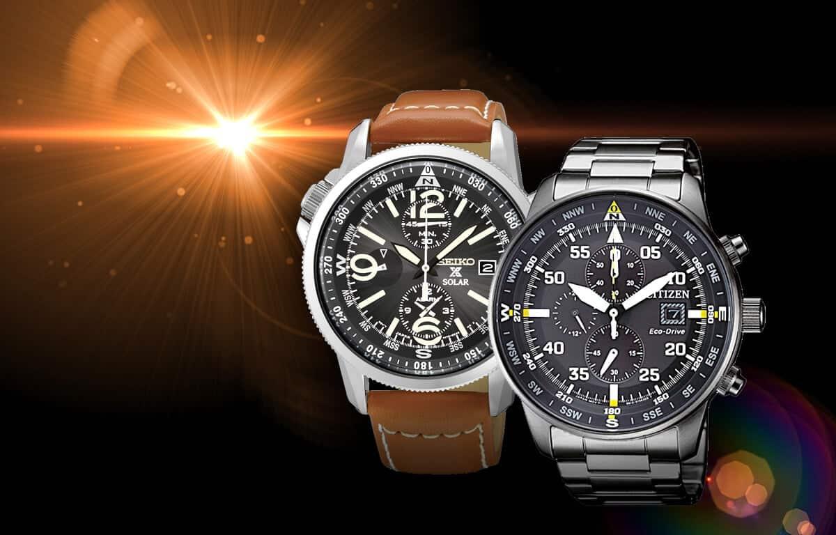 Pozreli sme podrobne na značky, ktoré vyrábajú solárne hodinky