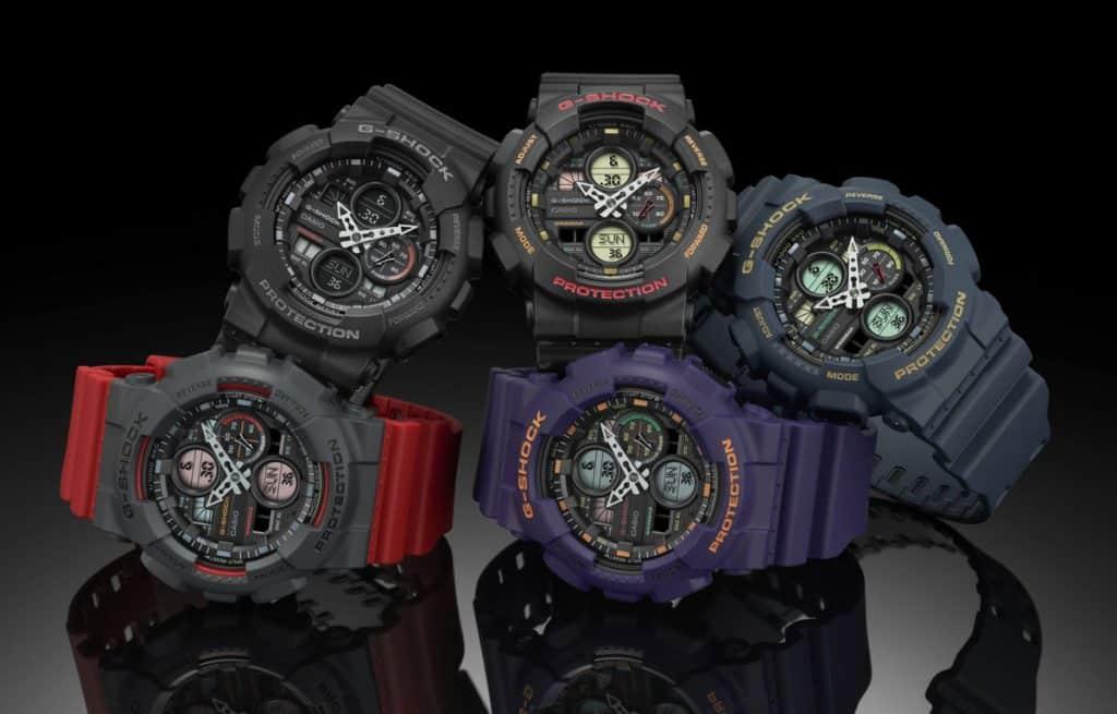 Hodinky Casio G-Shock z edície GA-140 si vás získajú svojimi farbami
