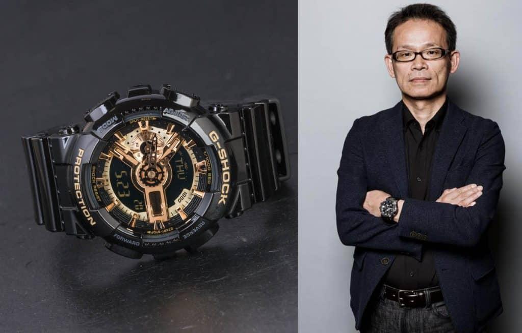 Ryosuke Moriai - dizajnér hodiniek Casio G-Shock z edície GA-110