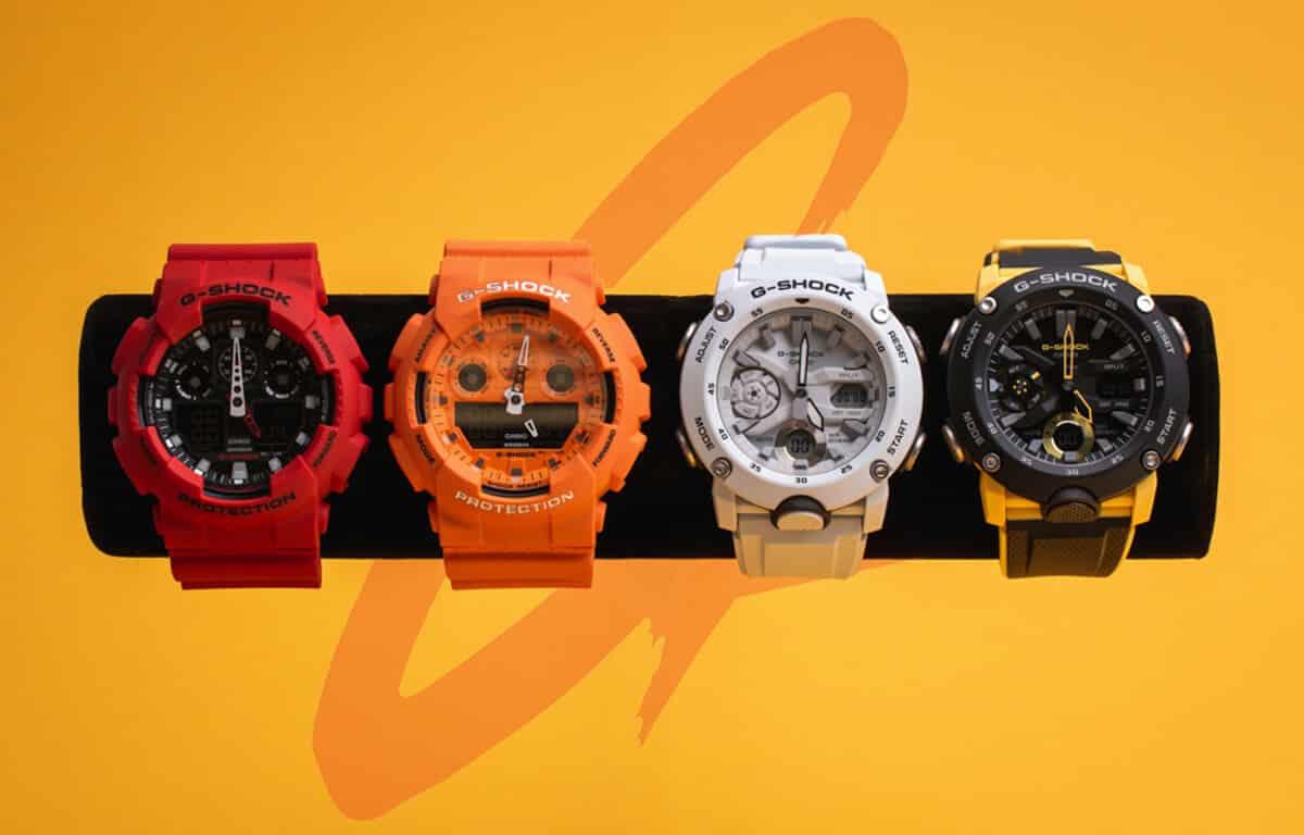 Hľadáte ideálny model z edície Casio G-Shock? Inšpirujte sa našim výberom.