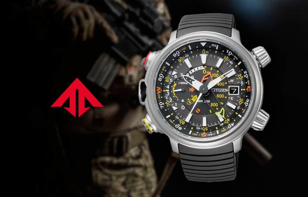 Masívne vojenské hodinky Citizen z edície Promaster Land