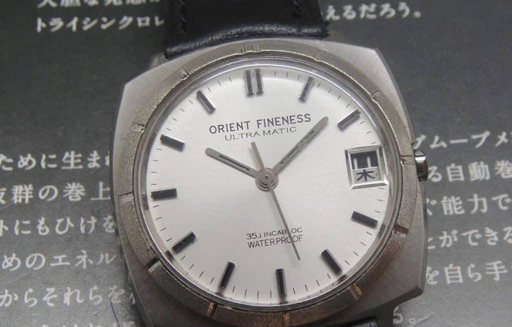 Hodinky Orient - historický model s označením Orient Fineness