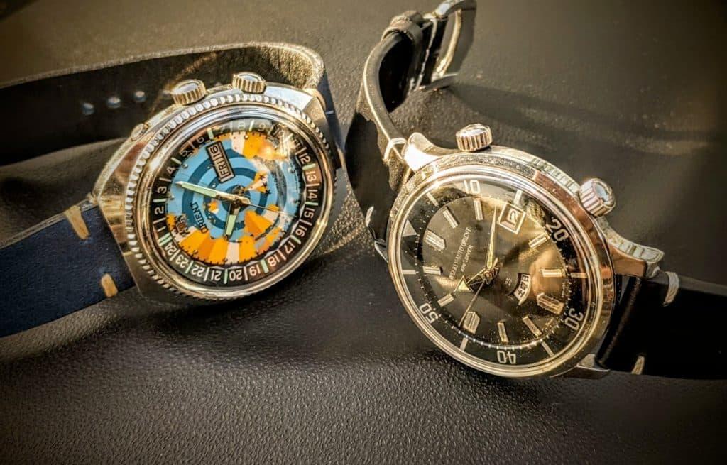 Historické modely hodiniek Orient